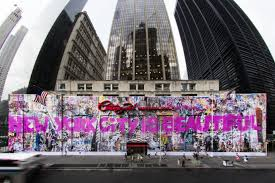 mr brainwash tries again with second 9 11 memorial mural at thierry guetta s 9 11 memorial mural 2015 version image courtesy of century 21