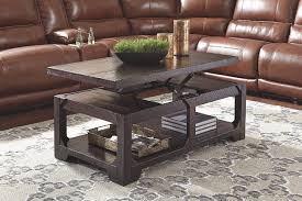 rogness coffee table with lift top furniture homestore