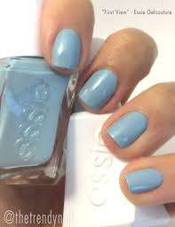 swatches essie gelcouture natural nail polish the trendy nail