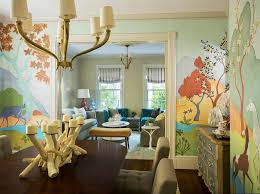 dining room murals wall murals for living room transitional dining room by heidi
