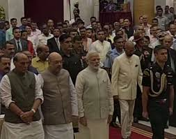 New Cabinet India Reshuffle Of Modi Cabinet Four Union Ministers Goyal Pradhan
