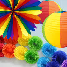 Rainbow Party Decorations Rainbow Party Supplies Party Delights