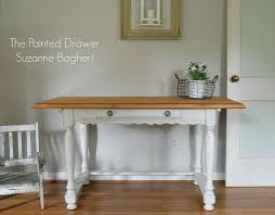 painted french country farmhouse desk hometalk