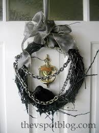 raven halloween party my halloween wreath all it u0027s missing is a whip the v spot
