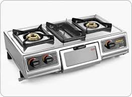Gas Stainless Steel Cooktop Sunflame Cook U0026 Grill Designer Stainless Steel Cooktop