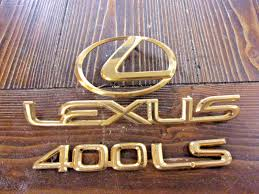 used lexus emblems for sale