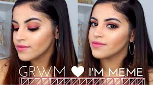 Get The Rimmel Look Meme - chatty get ready with me i m meme by memebox youtube