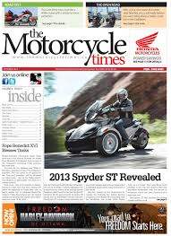the motorcycle times october 2012 edition by the motorcycle times