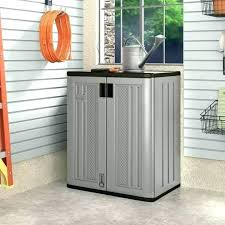 Outdoor Storage Cabinet Waterproof Outdoor Wood Storage Cabinet Medium Size Of Wood Storage