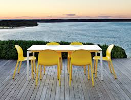 Frank Gehry Outdoor Furniture by Olivares Aluminum Chair Knoll