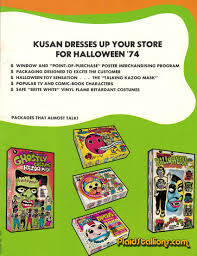 halloween card game 1974 kusan halloween costume catalog new zoo review david cassidy