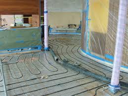 radiant floor heating how to heat concrete floors the concrete