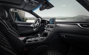 Interior Layout Genesis G70 Luxury Sedan G70 Design Genesis Korea