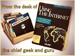 readme 1st from the desk of chief geek and guru geek history