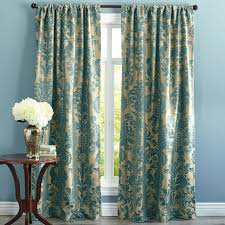 Teal Damask Curtains 36 Best Curtains Images On Blinds Sweet Home And Curtains