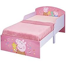 Peppa Pig Duvet Cover 100 Cotton Peppa Pig Toddler Bed By Hellohome Amazon Co Uk Kitchen U0026 Home