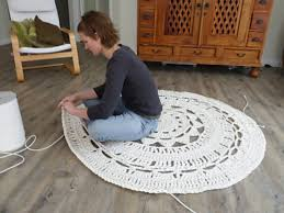 Upholstery Cording Instructions Via Simply Notable Diy A Giant Doily Rug Using 10 Mm Upholstery