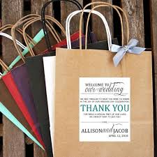 welcome to our wedding bags personalized welcome to our wedding welcome bag 2543634