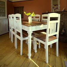 Shabby Chic Dining Table Set Shabby Chic Dining Table And Chairs 9 Fotos De Decoracin De