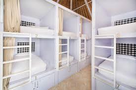 Dorm Room Shelves by Olé Olé Ollie Homestay Echo Beach Canggu Rooms