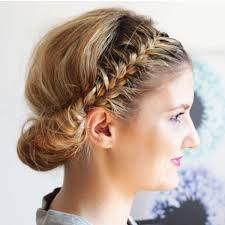 greek prom hairstyles our favorite prom hairstyles for medium length hair more com