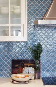 Dreamy Kitchen Backsplashes  Photos Breezy Mint Cabinets Peach - Blue tile backsplash kitchen