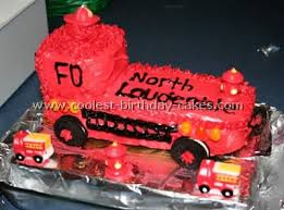 coolest fire truck cake ideas