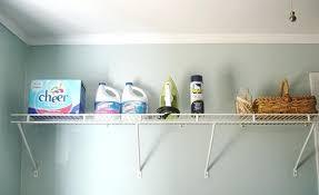 Laundry Room Storage Shelves Laundry Storage Shelves Laundry Room The Laundry Basket