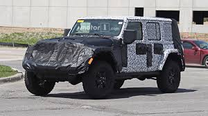 2018 jeep wrangler jl 2 door spied zf 8 speed auto and other 2018 jeep wrangler everything we know