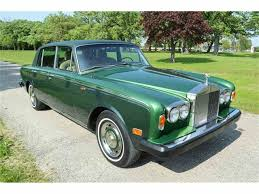 roll royce green 1974 rolls royce silver shadow for sale classiccars com cc 1030733