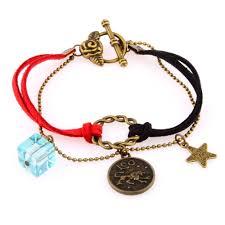 bracelet lucky images Vintage lucky zodiac sign bracelet jpg