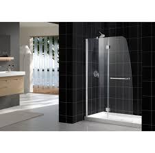 bathroom frameless clear glass dreamline shower door for modern
