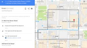 Downtown Phoenix Map by Saboten Con Free Parking