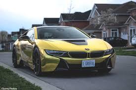 Bmw I8 Yellow - gold wrapped bmw i8 oc 5184x3456 carporn