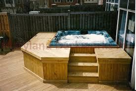 custom tub decks tub sales delivery tub packages