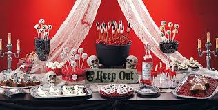 Horror Themed Home Decor by Scary Halloween Sweets U0026 Treats Baking Supplies Candy Buffet