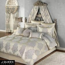 New York Bed Set Fleur Medallion Comforter Bedding By J New York