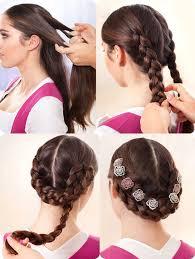 Hochsteckfrisurenen Zum Dirndl Selber Machen by Frisuren Zum Dirndl Selber Machen Kurze Haare Mode Frisuren
