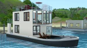 mod the sims salt and pepper house boat