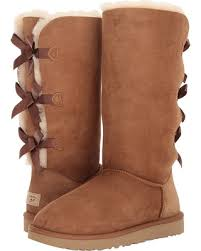 womens boots savings on ugg bailey bow ii chestnut s boots
