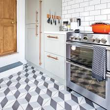 tiled kitchen floors ideas kitchen flooring ideas to give your scheme a new look