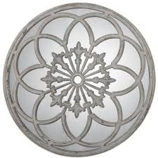 Home Decorating Mirrors by Gorgeous 40 Cottage White Round Window Wall Mirror Architectural