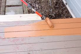 wood deck restoration with behr deckover