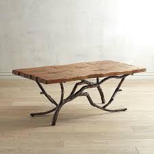 Brown Tree Branches Coffee Table