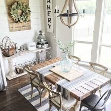 Rustic Farmhouse Dining Table And Chairs Dining Room Rustic Kitchen Tables Farmhouse Dining Rooms Table