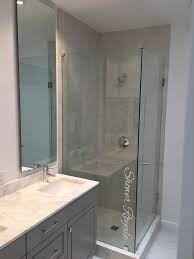 Non Glass Shower Doors Non Glass Shower Doors Sleek Showering Solutions With Non Glass