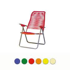 sedia sdraio giardino sedia sdraio cordonata erika in acciaio con braccioli arredo