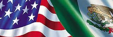 Mexican American Flag Treaty Of Guadeloupe Hidalgo By Victoria Rabanus