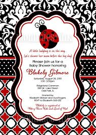 ladybug baby shower ideas ladybug baby shower invitation marialonghi