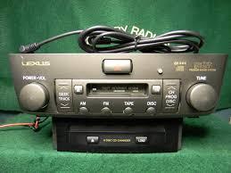 lexus ls430 wallpaper lexus ls 430 aux input le0014c factory radio service car